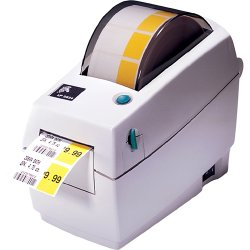 Zebra Technologies - 282P-201510-000 - Zebra LP 2824 Plus Thermal Label Printer - Monochrome - 4 in/s Mono - 203 dpi - USB - Fast Ethernet