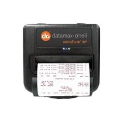 "Datamax / O-Neill - 200377-100 - Datamax-O'Neil microFlash 4te Direct Thermal Printer - Monochrome - Portable - Label Print - 4.10"" Print Width - 2 in/s Mono - 203 dpi - 2 MB - Wireless LAN - USB - Serial - 4.41"" Label Width"