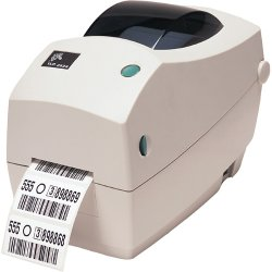 "Zebra Technologies - 282P-101111-000 - Zebra TLP 2824 Plus Direct Thermal/Thermal Transfer Printer - Monochrome - Desktop - Label Print - 2.20"" Print Width - 4 in/s Mono - 203 dpi - 8 MB - USB - Serial - 2.36"" Label Width - 39"" Label Length"