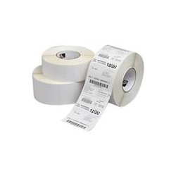 "Zebra Technologies - 10011972 - Zebra Z-Ultimate 2000T Thermal Label - Permanent Adhesive - ""0.75"" Width x 0.25"" Length - 10000 / Roll - 3"" Core - Thermal Transfer - White - Acrylic, Polyester - 4 / Roll"