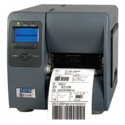 "Datamax / O-Neill - KJ2-00-08400Y07 - Datamax-O'Neil M-4210 Direct Thermal Printer - Monochrome - Desktop - Label Print - 4.25"" Print Width - 10 in/s Mono - 203 dpi - 16 MB - USB - Serial - Parallel - Ethernet - LCD - 4.65"" Label Width"