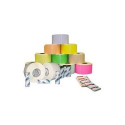 "Datamax / O-Neill - 453084 - DATAMAX FanTastock Glossy Permanent Adhesive Polyester Label - 4"" Width x 2.88"" Length - 500/Roll - 1"" Core - 8 / Case - White"
