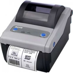 "Sato - WWCG18041 - Sato CG408 Thermal Transfer Printer - Monochrome - Desktop - Label Print - 4.09"" Print Width - 3.94 in/s Mono - 203 dpi - 8 MB - USB - Ethernet - 4.21"" Label Width - 11.81"" Label Length"