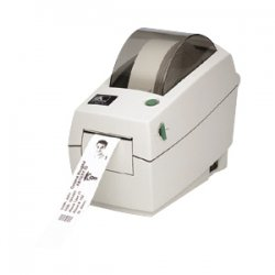 "Zebra Technologies - 282P-101510-040 - Zebra TLP 2824 Plus Thermal Transfer Printer - Monochrome - Desktop - Label Print - 2.20"" Print Width - 4 in/s Mono - 203 dpi - 8 MB - USB - Ethernet - 2.36"" Label Width - 39"" Label Length"