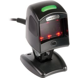 Datalogic - MG110020-001-202 - Datalogic Magellan 1100i Desktop Bar Code Reader - Cable Connectivity1D, 2D - LED - Omni-directional - Black