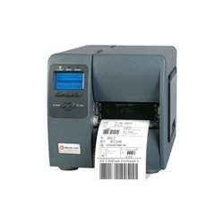 "Datamax / O-Neill - KD2-00-48900Y07 - Datamax-O'Neil M-Class M-4206 Direct Thermal/Thermal Transfer Printer - Monochrome - Desktop - Label Print - 4.25"" Print Width - Peel Facility - 6 lps Mono - 203 dpi - 16 MB - USB - Serial - Parallel"