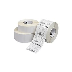 "Zebra Technologies - 10011701 - Zebra Label Polyester 2.75 x 1.25in Thermal Transfer Zebra Z-Ultimate 3000T 3 in core - Permanent Adhesive - ""2.75"" Width x 1.25"" Length - 4270 / Roll - 3"" Core - Thermal Transfer - White - Acrylic, Polyester - 4 / Roll"