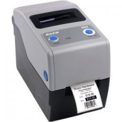 "Sato - WWCG30041 - Sato Compact CG212 Direct Thermal/Thermal Transfer Printer - Monochrome - Desktop - Label Print - 2.20"" Print Width - 4 in/s Mono - 305 dpi - 8 MB - USB - Ethernet - 2.36"" Label Width - 15.75"" Label Length"