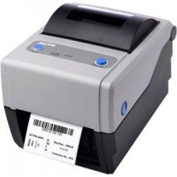 """Sato - WWCG22061 - Sato CG412 Thermal Transfer Printer - Monochrome - Desktop - Label Print - 4.10"""" Print Width - 4 in/s Mono - 305 dpi - 8 MB - 4.21"""" Label Width - 11.80"""" Label Length"""