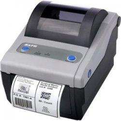 """Sato - WWCG18061 - Sato CG408 Thermal Transfer Printer - Monochrome - Desktop - Label Print - 4.10"""" Print Width - 4 in/s Mono - 203 dpi - 8 MB - 4.21"""" Label Width - 11.80"""" Label Length"""