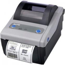 "Sato - WWCG12061 - Sato Compact CG412 Direct Thermal Printer - Monochrome - Desktop - Label Print - 4.10"" Print Width - 4 in/s Mono - 305 dpi - 8 MB - USB - Parallel - 4.21"" Label Width - 11.80"" Label Length"