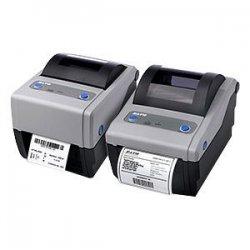 "Sato - WWCG08031 - Sato Compact CG408 Direct Thermal Printer - Monochrome - Desktop - Label Print - 4.10"" Print Width - 4 in/s Mono - 203 dpi - 8 MB - 4.21"" Label Width - 11.80"" Label Length"