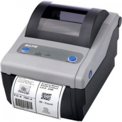 "Sato - WWCG12161 - Sato CG412 Direct Thermal Printer - Monochrome - Desktop - Label Print - 4.10"" Print Width - 4 in/s Mono - 305 dpi - 8 MB - 4.21"" Label Width - 11.80"" Label Length"