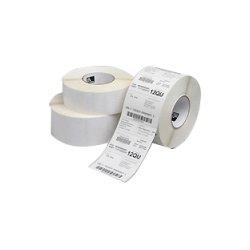 "Zebra Technologies - 10011707 - Zebra Label Polyester 2 x 0.5in Thermal Transfer Zebra Z-Ultimate 4000T 3 in core - Permanent Adhesive - 2"" Width x 0.50"" Length - 10000 / Roll - 3"" Core - Thermal Transfer - White - Acrylic, Polyester - 4 / Roll"