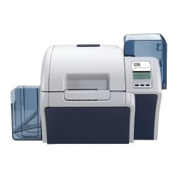 Zebra Technologies - Z84-EM0C0000US00 - Zebra ZXP Series 8 Dye Sublimation/Thermal Transfer Printer - Color - Desktop - Card Print - Auto Feed - 150 Card Feeder, 100 Card Output Hopper - 18.9 Second Color - 304 dpi - 64 MB - USB - Ethernet - LCD