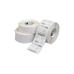 "Zebra Technologies - 10012163 - Zebra Label Paper 4 x 2in Direct Thermal Zebra Z-Perform 2000D 1 in core - Permanent Adhesive - ""4"" Width x 2"" Length - 1240 / Roll - Rectangle - 1"" Core - Direct Thermal - White - Paper, Acrylic - 6 / Roll"