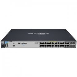 Hewlett Packard (HP) - J9146A#ABA - HP ProCurve 2910al-24G-PoE Ethernet Switch - 4 x SFP (mini-GBIC) - 24 x 10/100/1000Base-T