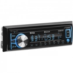 Boss Audio Systems - 750BRGB - BOSS AUDIO 750BRGB Single-DIN CD/MP3 Player, Receiver, Bluetooth, Detachable Front Panel, Wireless Remote - Plays   MP3/CD/USB/SD CD?R/RW Audio