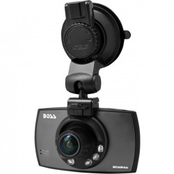 Boss Audio Systems - BCAM40 - Boss Audio Digital Camcorder - 2.5 - Full HD - 16:9 - USB - microSD - Memory Card - Suction Mount