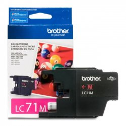 Brother International - LC71M - Brother Innobella LC71M Standard Yield Ink Cartridge - Inkjet - 300 Page - 1 Each