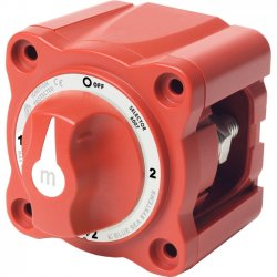 Blue Sea Systems - 6007 - Blue Sea m Hard Wire Switch - Selector Switch - Red