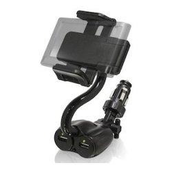 Bracketron - BT1-663-2 - Bracketron TekGrip Power Dock - Docking - Smartphone, GPS, MP3 Player, iPhone - Charging Capability - Black