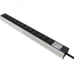 Liebert - 035351051 - Knurr DI-STRIP Basic 12-Outlets PDU - 12 x NEMA 5-20 T-Slot - 1.90 kVA - 0U - Vertical Rackmount