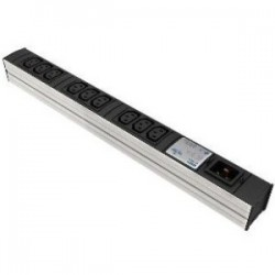 Liebert - 035352021 - Knurr DI-STRIP Basic 9-Outlets PDU - 9 x IEC 60320 C13 - 3.30 kVA - 0U - Vertical, Rack-mountable