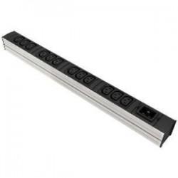 Liebert - 035352041 - Knurr DI-STRIP Basic 12-Outlets PDU - 12 x IEC 60320 C13 - 3300 VA - 0U - Vertical Rackmount