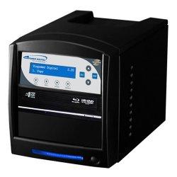 Vinotemp - SHARKNET-1T-BD-BK - Vinpower Digital SharkNet-1T-BD 1:1 BD/CD/DVD Duplicator - Standalone - BD-Writer - 8x BD-R, 8x BD-R, 16x DVD-R, 16x DVD+R, 4x DVD-R, 4x DVD+R, 32x CD-R - 2x BD-RE, 2x BD-RE, 6x DVD-R/RW, 8x DVD+R/RW, 24x CD-RW - USB