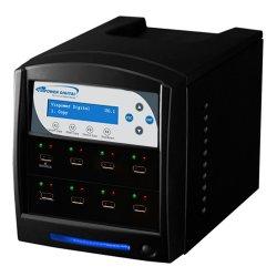 Vinotemp - USBSHARK-7T-BK - 1:7 Usbshark Copy Tower Stand Alone Usb Flash Drive Duplicator