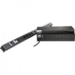Raritan - DPXS12A-16 - Raritan Dominion PX 12-Outlets 3.7kVA PDU - 12 x IEC 60320 C13 - 3.7kVA - Zero U Rack-mountable