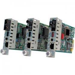 Omnitron - 8364-0 - iConverter 100Mbps Ethernet Fiber Media Converter RJ45 MT-RJ Multimode 5km Module - 1 x 100BASE-TX; 1 x 100BASE-FX; Internal Module; Lifetime Warranty