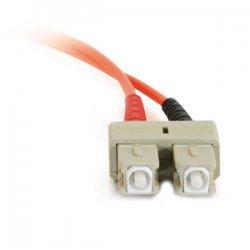 C2G (Cables To Go) - 13550 - C2G 6m SC-SC 62.5/125 OM1 Duplex Multimode PVC Fiber Optic Cable (USA-Made) - Orange - Fiber Optic for Network Device - SC Male - SC Male - 62.5/125 - Duplex Multimode - OM1 - USA-Made - 6m - Orange
