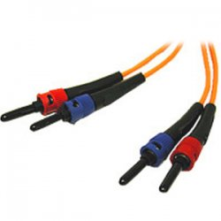 C2G (Cables To Go) - 13580 - C2G 6m ST-ST 62.5/125 OM1 Duplex Multimode PVC Fiber Optic Cable (USA-Made) - Orange - Fiber Optic for Network Device - ST Male - ST Male - 62.5/125 - Duplex Multimode - OM1 - USA-Made - 6m - Orange