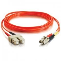 C2G (Cables To Go) - 33120 - C2G-9m LC-SC 62.5/125 OM1 Duplex Multimode PVC Fiber Optic Cable - Orange - Fiber Optic for Network Device - LC Male - SC Male - 62.5/125 - Duplex Multimode - OM1 - 9m - Orange