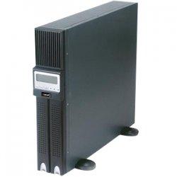 Rocstor - RPS3000TRM2U - Rocstor Rocpower Smartroc Sine Wave 2U 3000 VA Tower/Rack Mountable UPS - 3000VA/1800W - 4 x NEMA 5-15R, 2 x NEMA 5-20R, NEMA L5-30R