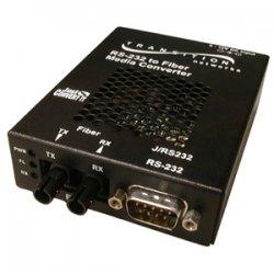 Transition Networks - J/RS232-TF-01(SC)-EU - Transition Networks Just Convert-IT J/RS232-TF-01(SC) Media Converter - 1 x DB-9 RS-232 , 1 x SC - External, Wall-mountable
