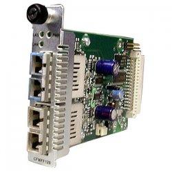 Transition Networks - CFMFF1329-222 - Transition Networks Point System Gigabit Ethernet Single Mode to Multimode Fiber Media Converter - 1 x SC , 1 x SC - 1000Base-SX, 1000Base-LX