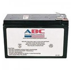 American Battery Company - RBC2 - ABC Replacement Battery Cartridge #2 - Maintenance-free Lead Acid Hot-swappable