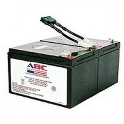 American Battery Company - RBC6 - ABC Replacement Battery Cartridge #6 - Maintenance-free Lead Acid Hot-swappable