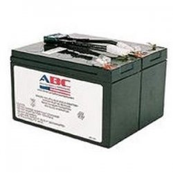 American Battery Company - RBC9 - ABC RBC9 Replacement Battery Cartridge #9 - Maintenance-free Lead Acid Hot-swappable