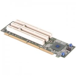 Supermicro - CSE-RR2U-PS - Supermicro 2U 3-Slot 64-Bit Active Riser Card - 3 x PCI-X 133MHz