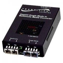 Transition Networks - SFMFF1329-221-NA - Transition Networks Gigabit Ethernet Transceiver - 1 x SC Duplex , 1 x SC - 1000Base-SX, 1000Base-LX
