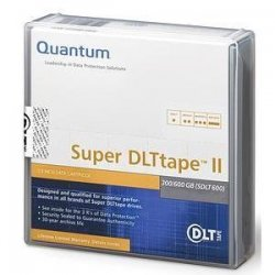 Quantum - MR-S2MQN-01 - Quantum Super DLTtape II Cartridge - Super DLT Super DLTtape II - 300GB (Native) / 600GB (Compressed)
