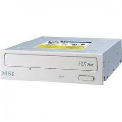 MSI - C52 - MSI 52x IDE Internal CD-ROM Drive - EIDE/ATAPI - Internal