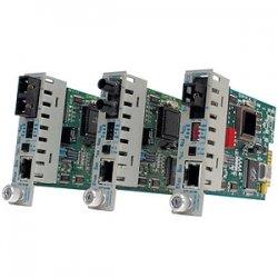 Omnitron - 8391-1 - iConverter 10/100 Ethernet Single-Fiber Media Converter RJ45 SC Single-Mode BiDi 20km Module - 1 x 10/100BASE-TX; 1 x 100BASE-BX-D (1550/1310); Internal Module; Lifetime Warranty
