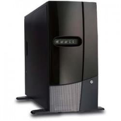 Chenbro Micom - SR10569-C0 - Chenbro SR10569 No Power Supply Workstation Case (Black)