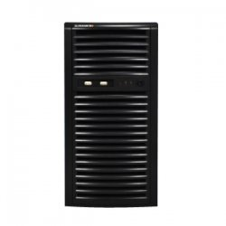 Supermicro - CSE-731D-300B - Supermicro SuperChassis SC731D-300B Chassis - Mini-tower - 7 Bays - 300W - Black