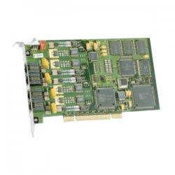 Dialogic - 310-936-51 - Dialogic D4PCIU4SEQ Voice Board - PCI Express - Plug-in Card